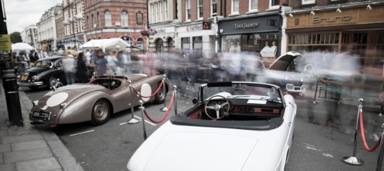 St. John's Wood Super Car Pageant 2015
