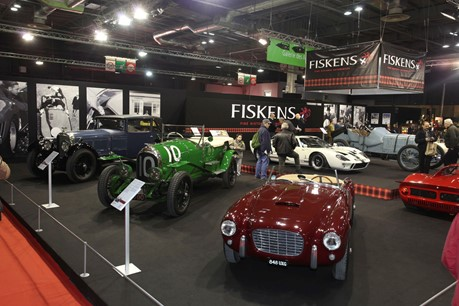 Fiskens showcase remarkable collection of historic automobiles at Retromobile