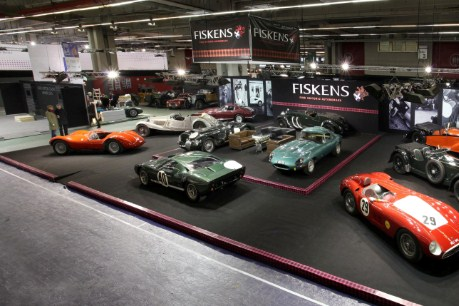 Monaco Grand Prix winner Olivier Panis to unveil Fiskens' stunning collection at Retromobile