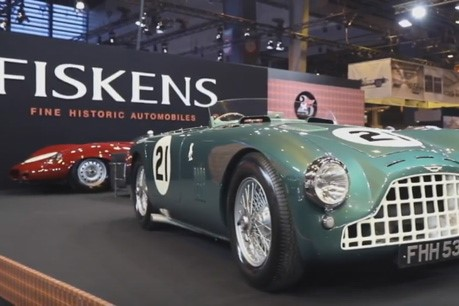 Fiskens returns from Salon Rétromobile after a strong and successful show
