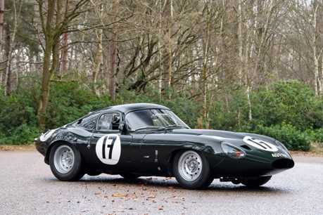 Fiskens steal the limelight at Salon Rétromobile with '49 FXN', the 1963 'Lowdrag' Jaguar E-Type Lightweight