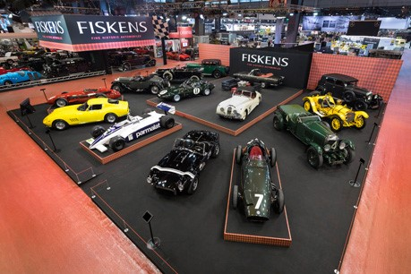 Fiskens returns from Salon Rétromobile boosted by sales from their best collection to date
