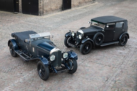 Fiskens puts the 'V' in Vintage Bentleys