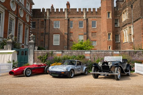 Fiskens at the Concours Of Elegance, Hampton Court Palace, 31st Aug – 2nd Sept 2018