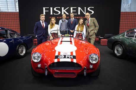 Fiskens has returned from Retromobile and has finally caught their breath after the team's annual trip to Paris