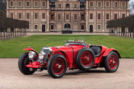 Fiskens Presents: The 1936 Factory Lightweight Supercharged Squire
