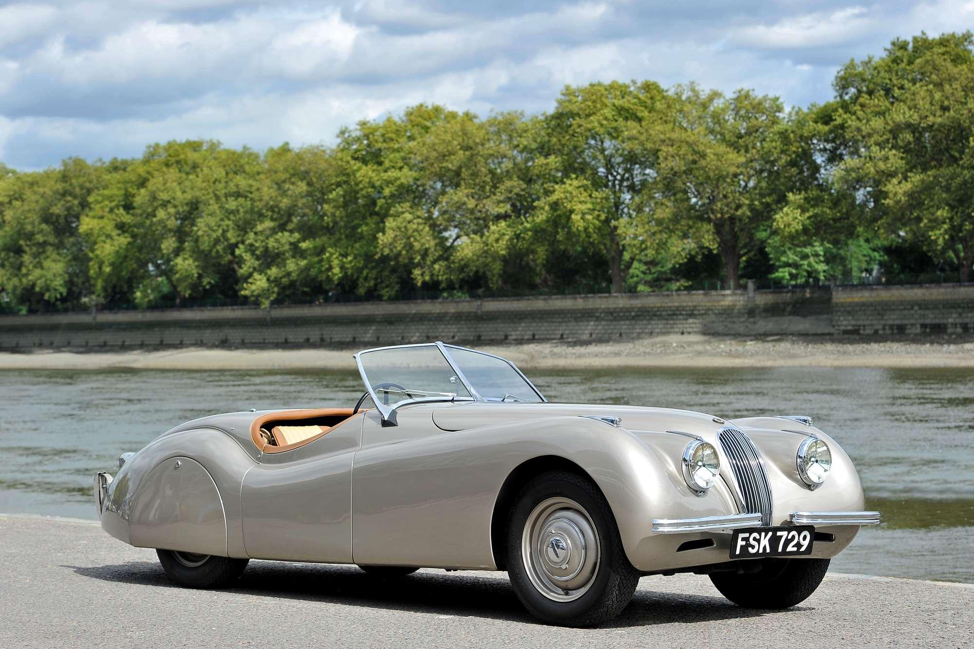 1949 jaguar xk120 alloy roadster previously sold fiskens. Black Bedroom Furniture Sets. Home Design Ideas
