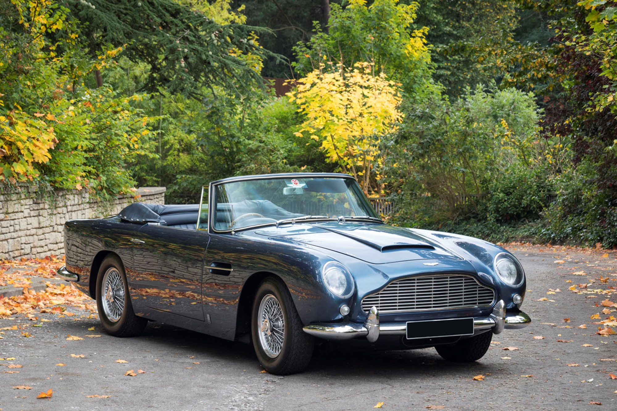 1965 Aston Martin Db5 Convertible Previously Sold Fiskens