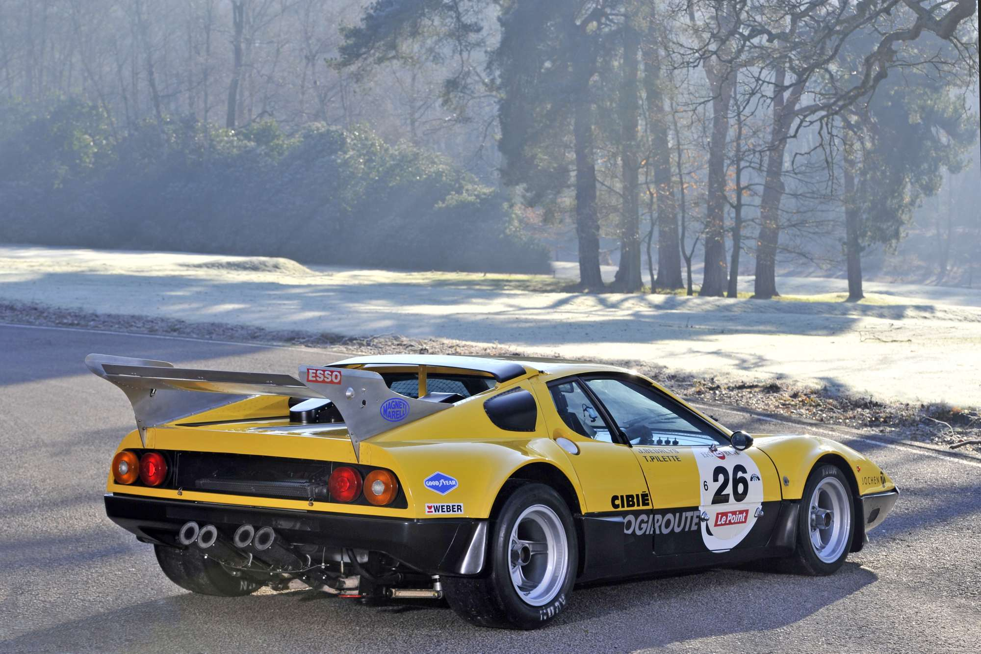 1978 ferrari 512 bb ex ecurie francorchamps previously