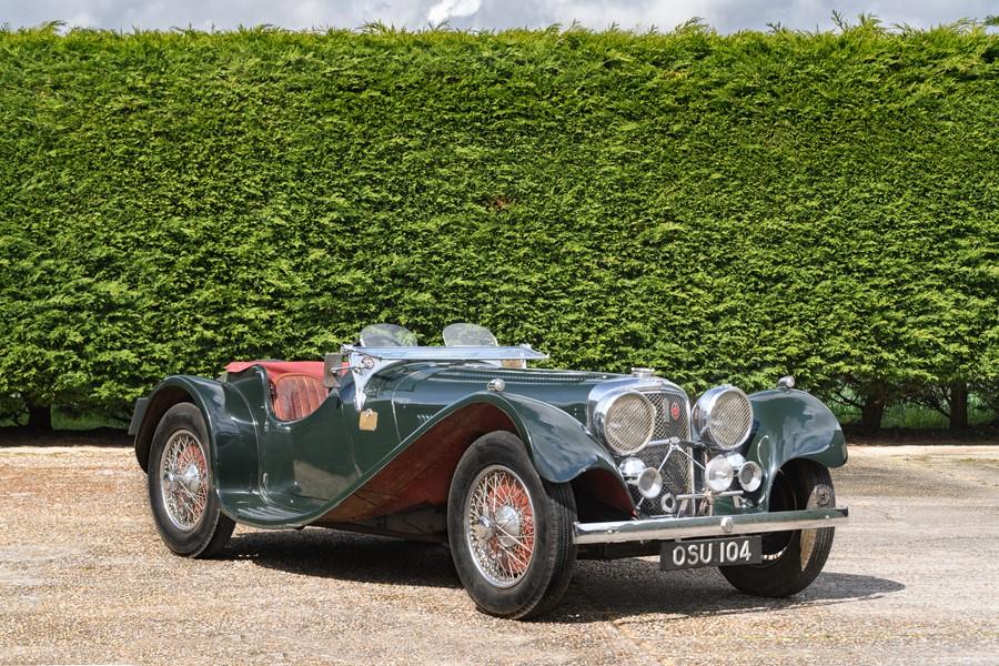 1937 Jaguar SS100 2 1/2 Litre
