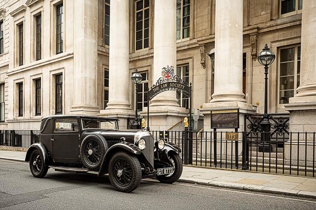 1931 Bentley 4 1/2 Litre Sportmans Coupe
