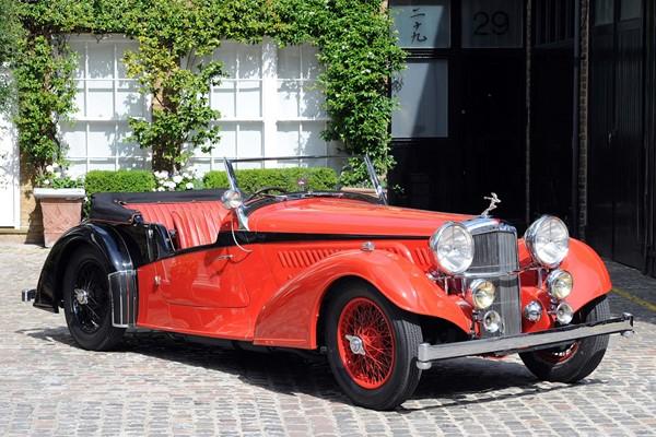 1938 Alvis 4.3 Litre Short Chassis Vanden Plas Tourer
