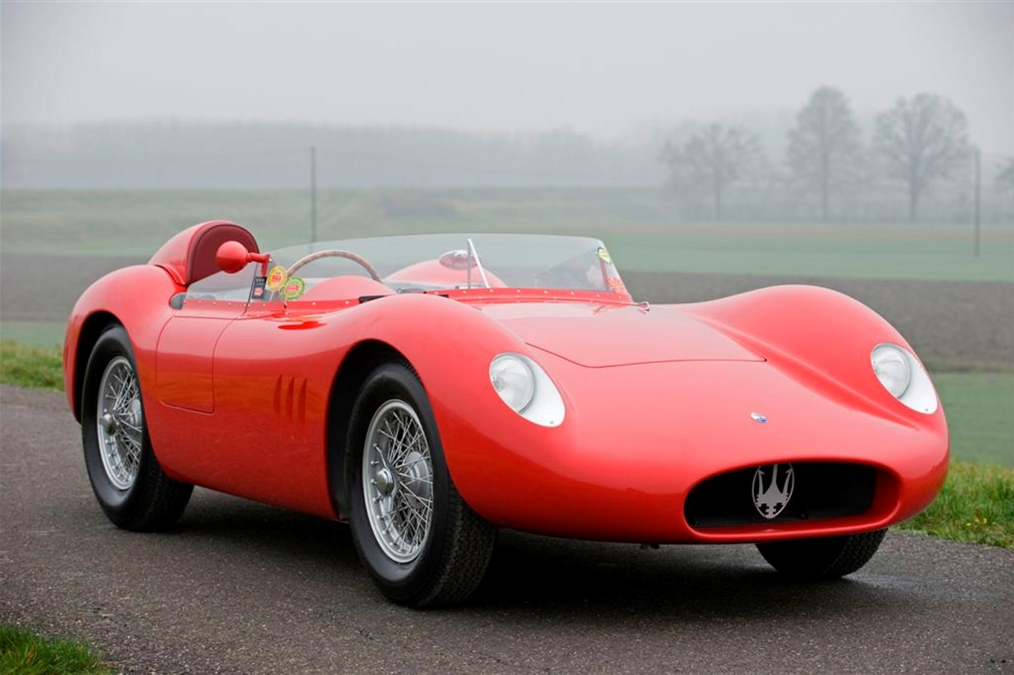 1957 Maserati 200 Si Previously Sold Fiskens