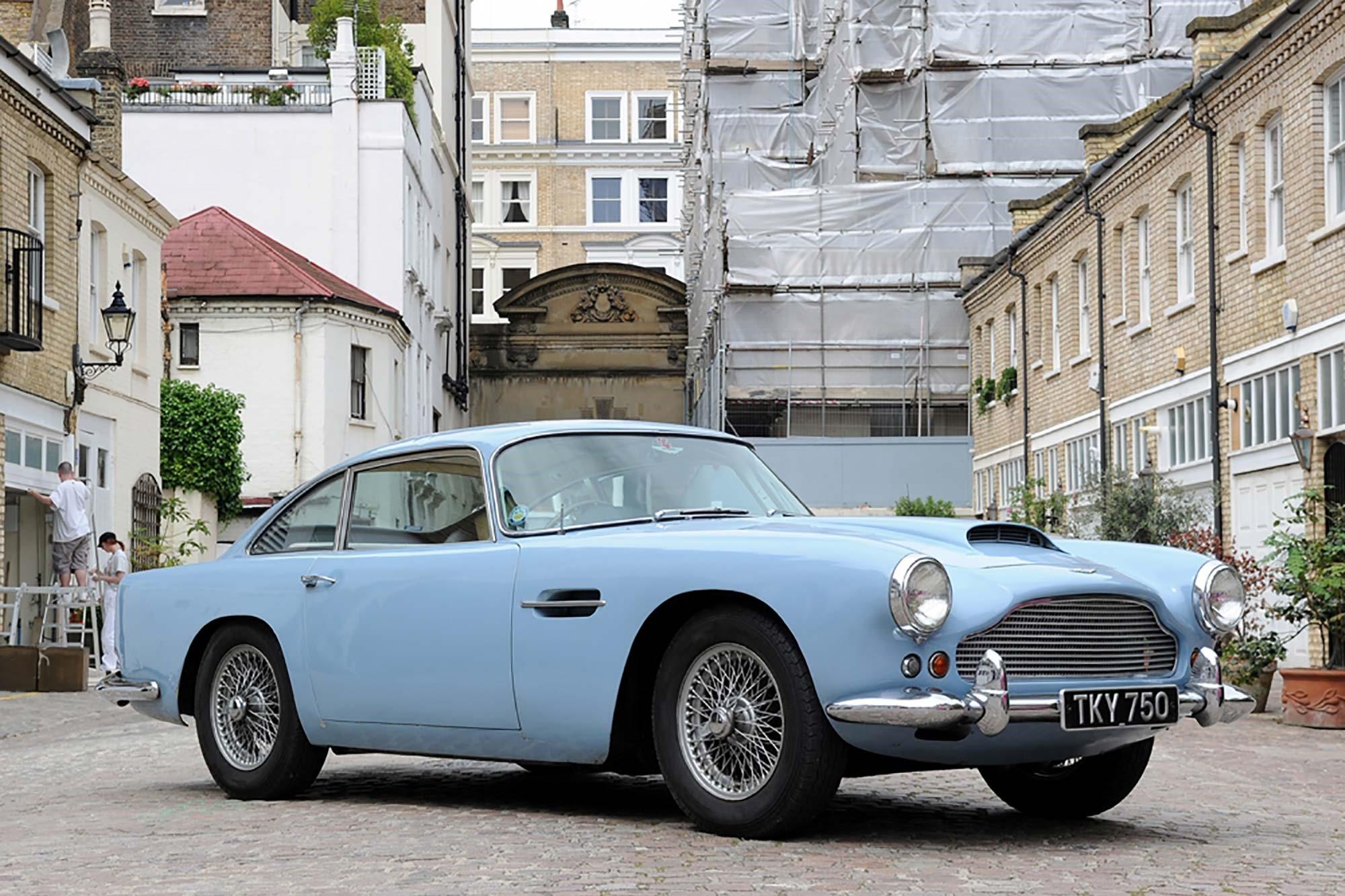 1960 Aston Martin Db4 Previously Sold Fiskens