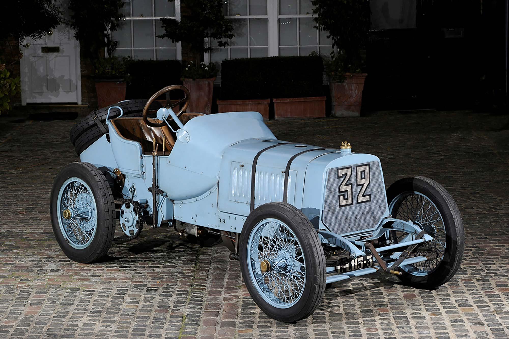 1908 Panhard Levassor Previously Sold Fiskens