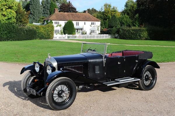 1928 Bentley 4.5 Litre Tourer by Harrison