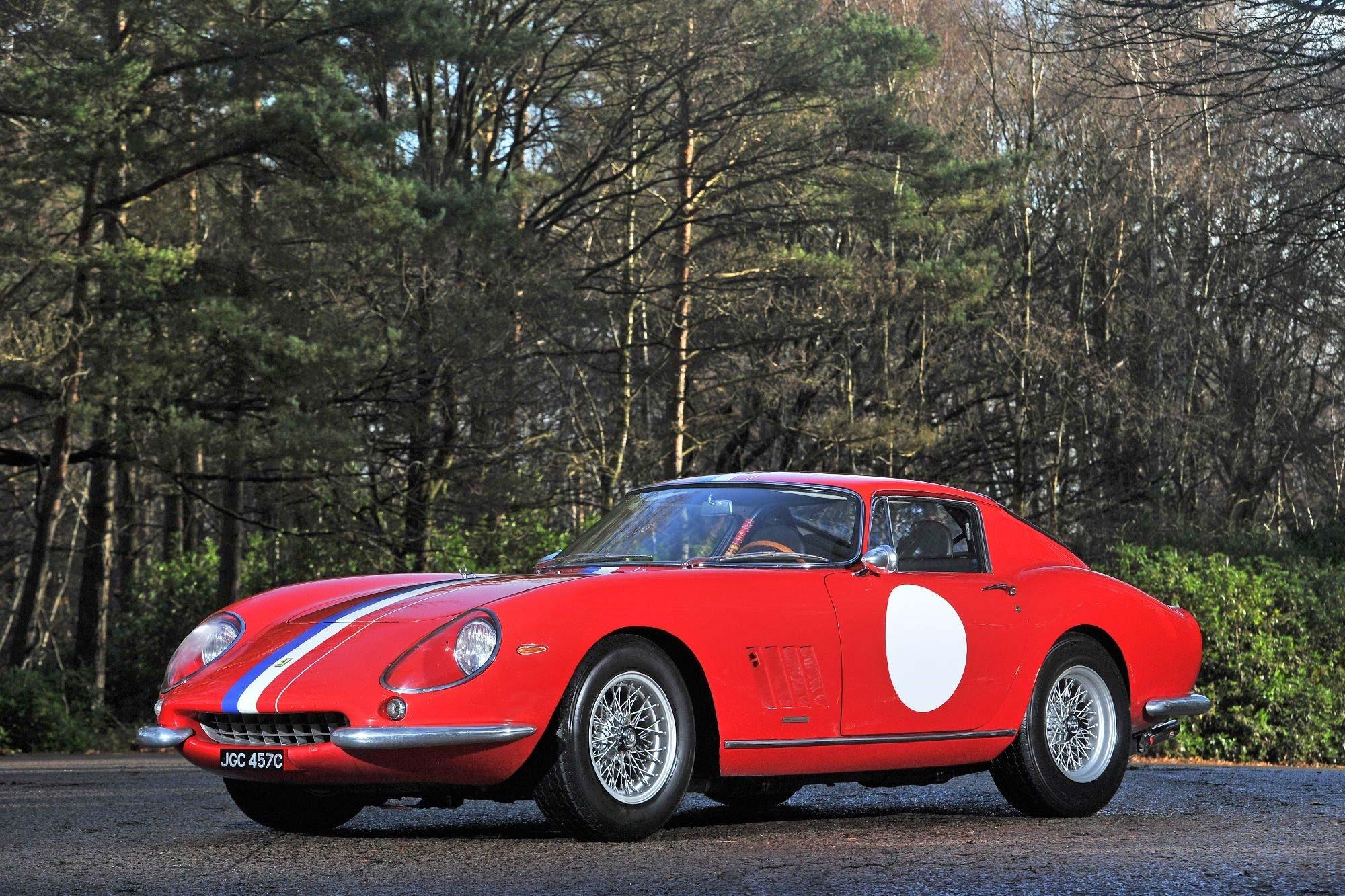 1956 Ferrari 275 Gtb 2 Long Nose Alloy Previously Sold Fiskens