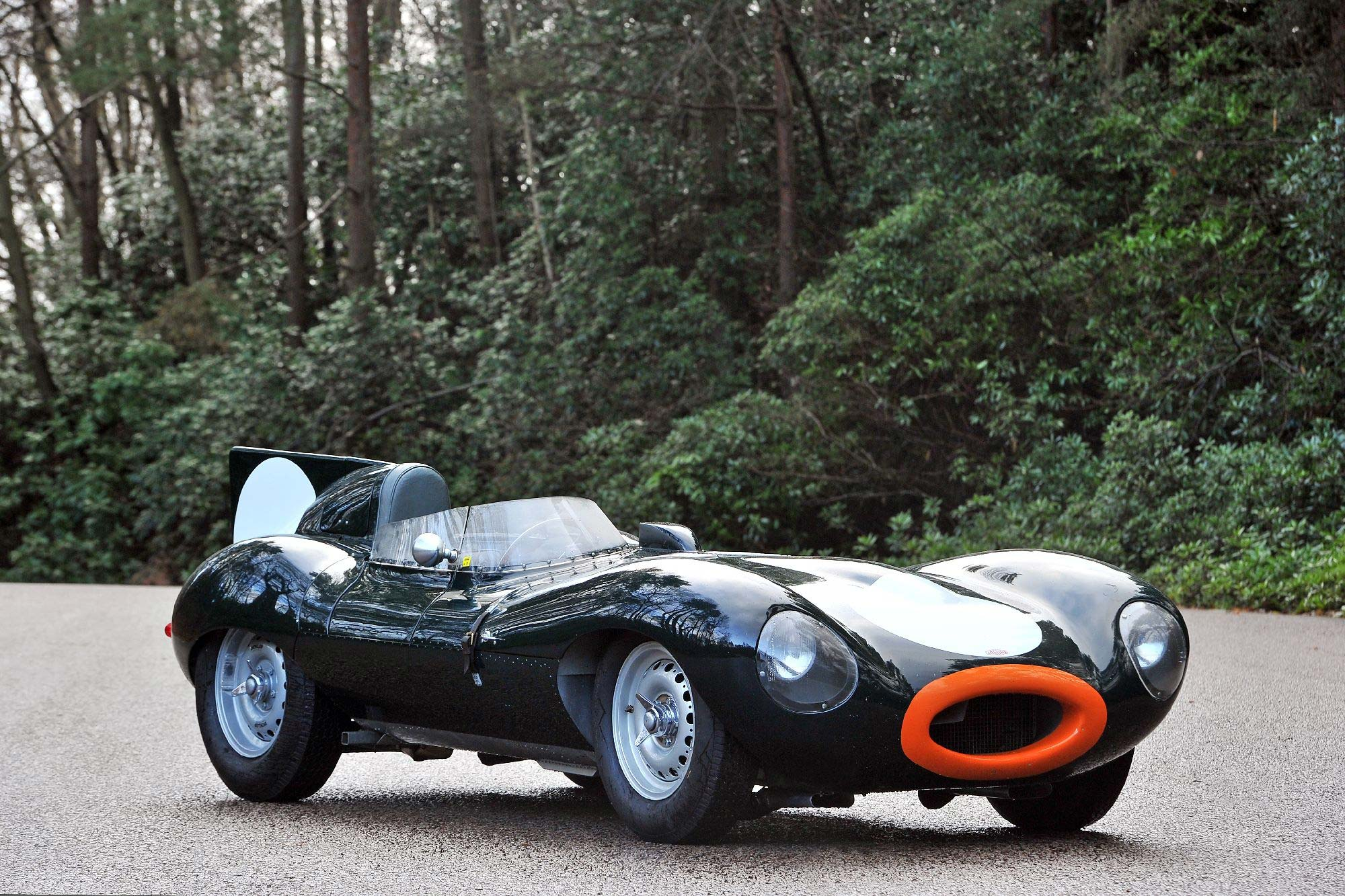 1955 jaguar d type previously sold fiskens. Black Bedroom Furniture Sets. Home Design Ideas