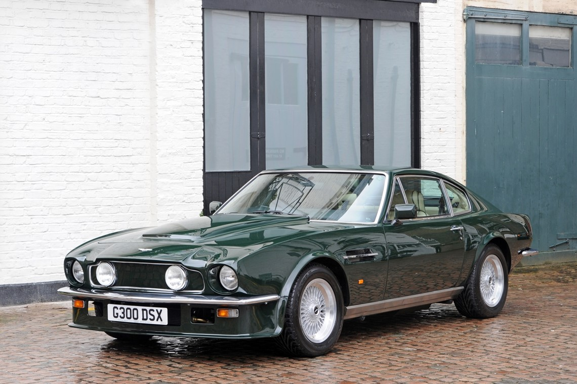 1989 Aston Martin V8 Vantage X Pack Coupe Cars For Sale Fiskens