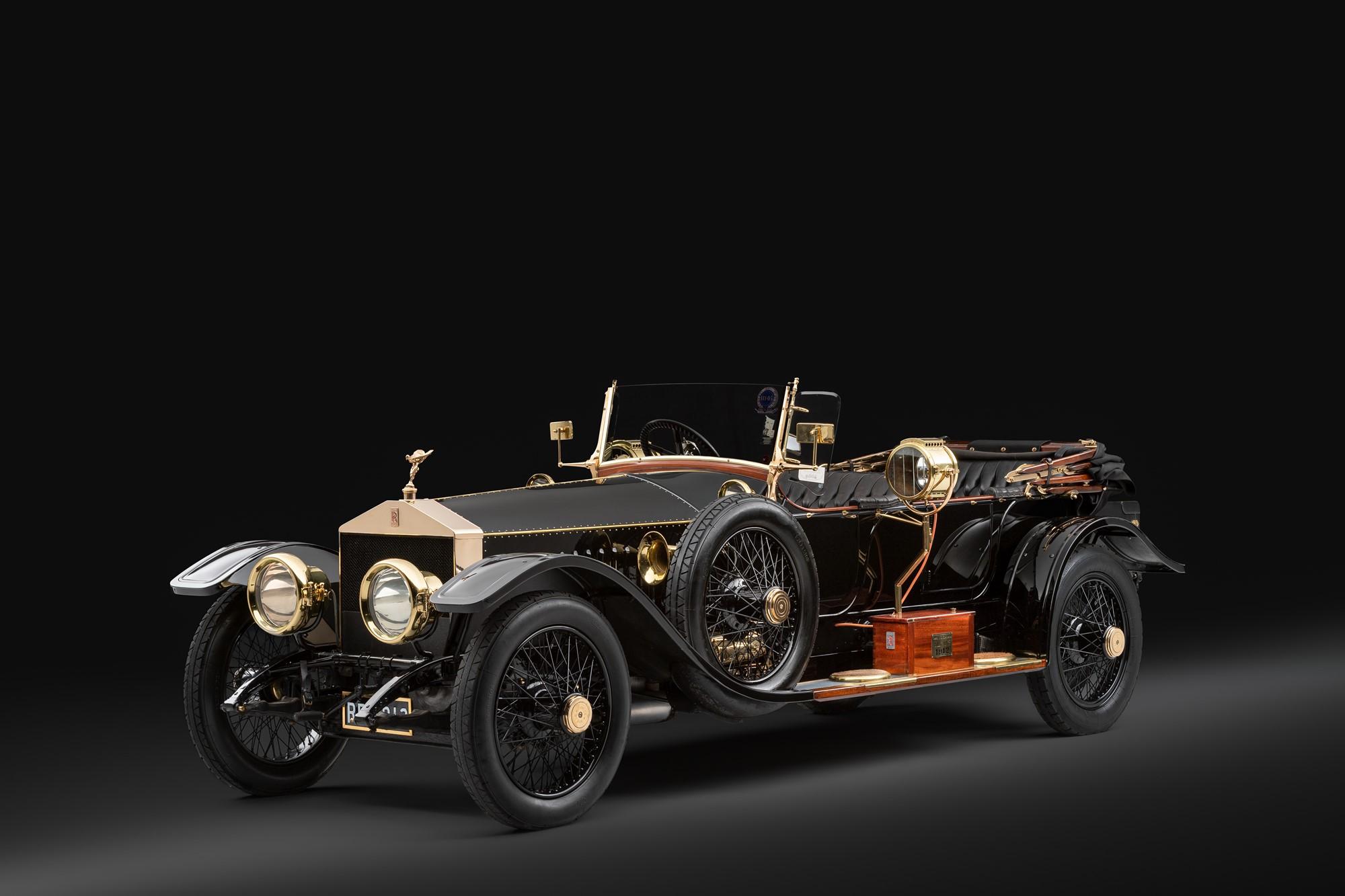 1912ロールス-ロイス 40/50HP シルバー ゴースト