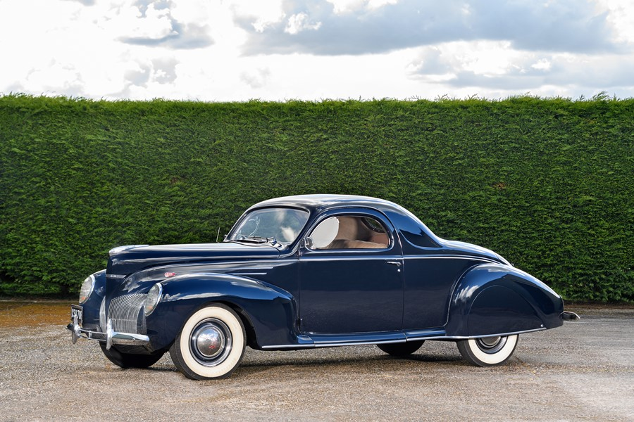 1939 Lincoln Zephyr V12