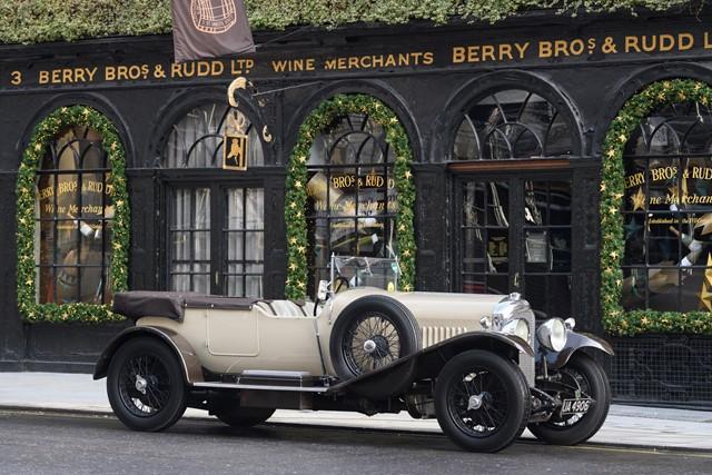 1928 Bentley 4 1/2 Litre Vanden Plas Style Tourer