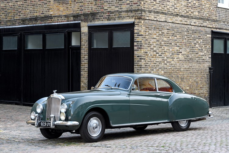 1954 Bentley  R-Type Continental LHD Fastback Sports Saloon by H.J. Mulliner